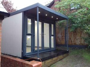3m x 4.4m SIP Panel Garden Office/Garden Room/Summer House