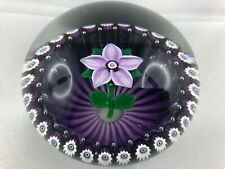 1985 Selkirk Glass Paperweight/Briefbeschwerer lim. Edition 53/100 Peter Holms