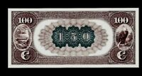 """Proof Print or Intaglio by BEP - Back of 1882 $100 National Banknote """"Brownback"""""""