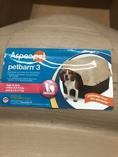 Petmate Aspen Pet Petbarn 3 Size S. Up to 25lbs Dog House- New