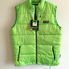NO FEAR BUILT IN HEADPHONES FOR IPOD IPHONE BODYWARMER GILET SIZE LARGE RRP £50