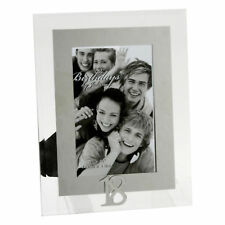 "Stunning Mirror Glass 4'x6' Photo Frame �€"" with 3D Number - 18th Birthday"