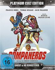 COMPANEROS - PLATINUM CULT Tomas Milian FRANCO NERO BLU-RAY + 2 DVD + CD Box