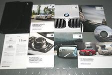 2013 BMW 640i 650i Convertible 6 Series Owners Manual - Set