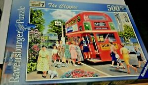 Ravensburger 500 Jigsaw Happy Days at Work No 7; The Clippie