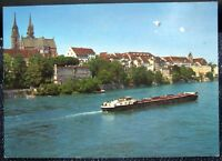 Switzerland Basel der Rhein die Pfalz und das Munster - posted 1991