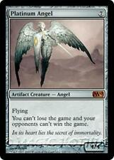 PLATINUM ANGEL M10 Magic 2010 MTG Artifact Creature — Angel MYTHIC RARE
