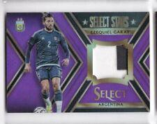 2015-16 Ezequiel Garay #/25 Patch Panini Select Argentina Soccer Prizm