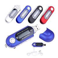 1pc Mini MP3 Spieler LCD + FM-Radio USB Unterstützung 32GB Micro ~_