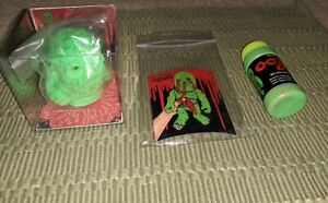 Retroband Ooze It MABA Figure Toy Resin Slime Complete New Horror Figure