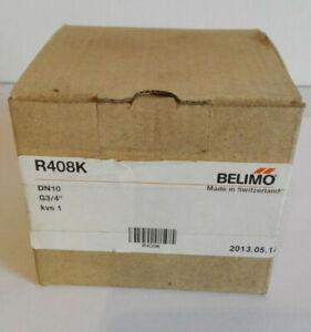 Belimo R408K 2-Weg Regel-Kugelhahn , PN16,DN10 , 3/4`` NEU/OVP