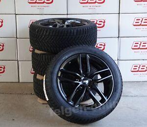BBS SX schwarz Winter Kompletträder 18 Zoll + RDK + Dunlop Tesla Model 3 + ABE
