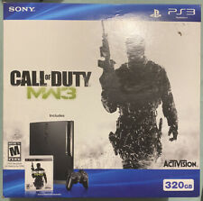 New Sony Playstation 3 PS3 Slim 320GB Game Console New Limited MW3 Bundle GT 5
