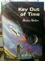 Key Out of Time by Andre Norton (1963) HC.DJ.1st. Signed BP. Very Good Plus Cond