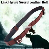 Medieval Brown Back Hanger Baldric Sword Belt Anime Zelda Sword Frog