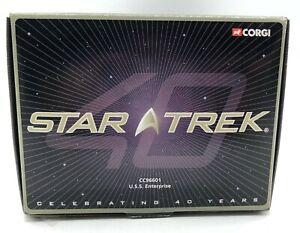 Corgi Star Trek - U.S.S. Enterprise CC96601- 40 Years Anniversary Model