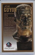Joe Guyton Pro Football HOF Bronze Bust Card 100/150
