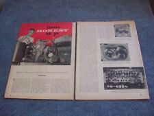 "1956 HOw-To Tech Info Article Hot Rodding a 312 Mercury Y-Block ""300 Honest HP"""