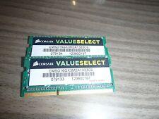 Mémoire Sodimm 8  Go  DDR3 - 10600 - PC3 - 1333 MHz
