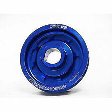OBX Blue Precision Underdrive Crank Pulley For 1989 To 1998 Nissan SR20DET