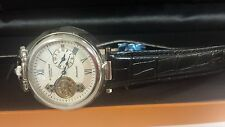 Stuhrling Original Emperor Open Heart Automatic SKELETON WATCH. CAL ST 90311