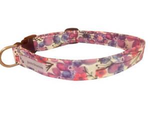 SPIFFY POOCHES Dog Cat Collar Purple Florals ~B.O.G.O @ 50% OFF C DESCRIPTION~
