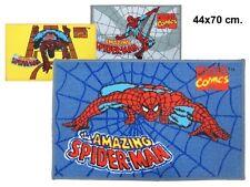 Tapis Spiderman 70 x 44 cm coloris JAUNE