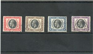 SG 88/91 S.W.AFRICA USED JUBILEE SET CAT £35