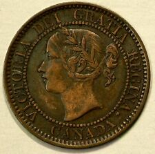 1859 Canada Large Cent Repunched 9 #9770