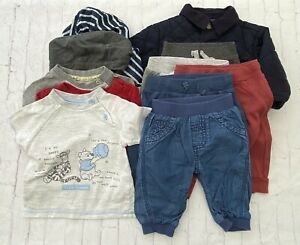Baby Boys 0-3 months Mixed Clothes Bundle