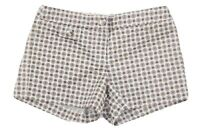 J Crew Womens Multicolor Retro Style Print Cotton Blend Casual Shorts Size 2