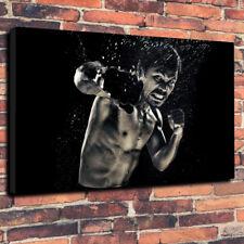 "Manny Pacquiao STAMPA FOTO SU TELA A1.30""x20"" 30 mm Deep Home Decor BOXING"