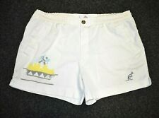 AUSTRALIAN BY L'ALPINA RETRO TENNIS SHORTS OLDSCHOOL VINTAGE 80s size D50 MEDIUM