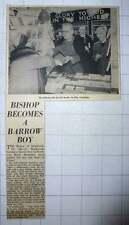 1960 Dr Mervyn Stockwood Becomes Barrow Boy Northcote Rd Battersea