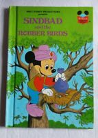 Walt Disney Productions Presents Sinbad and the Robber Birds Hardcover Book 1982
