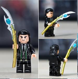 LOKI (Tom Hiddleston) - The God of Mischief - Custom Minifigure Marvel HOT SALE
