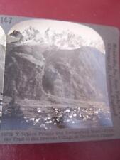 Stereo View Stereo Card - France Chamonix