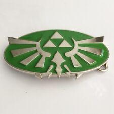 Tri Force Nintendo Green Belt Buckle The Legend of Zelda Twilight Princess