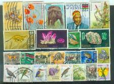 Lot Briefmarken aus Kenya