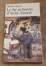 Le the au harem d'Archi Ahmed Mehdi Charef French Francais Folio paperback
