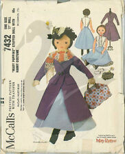 "Original Vintage Mary Poppins 17"" Cloth Doll Sewing Pattern M7432"