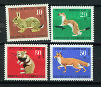 ALEMANIA/RFA WEST GERMANY 1967 MNH SC.B422/B425 Animals