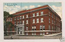 YMCA  Building BLOOMINGTON IL Circa 1910