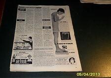 Advertising Italian Pubblicità: LAGOSTINA BILANCE ***1961***