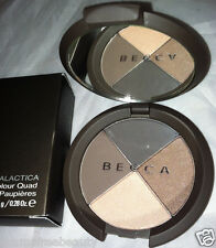 Becca Ultimate Eyeshadow Quad *GALACTICA* Matte/Metallic Brown, Ebony Peach BNIB
