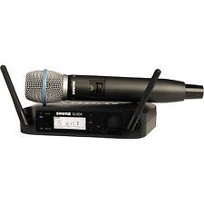 Shure GLXD24/B87A-Z2 Digital 2.4GHz Wireless Handheld Beta 87A Capsule | New