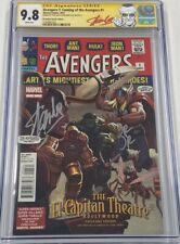 Avengers #1 Autograph Signed by Stan Lee & John Romita Jr CGC 9.8 SS MCU LE 1500