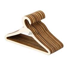 10 Wood Clothes Coat Hanger for 1/3 BJD SD MSD DOD DOC DD YOSD Dollfie Doll