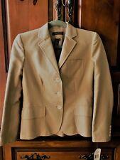 LAUREN RALPH LAUREN Petite Tan Blazer/Jacket Size 2P  $230+Tax NWT