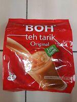 BOH TEH TARIK / MILK TEA LESS SWEET 12 SACHETS x 30g - FREE SHIPPING + TRACKING